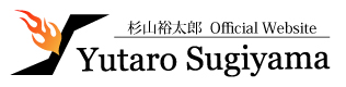 YUTAROSUGIYAMA.COM header image 4